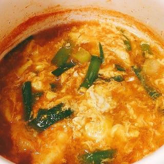 ピリ辛韓国風スープごはん