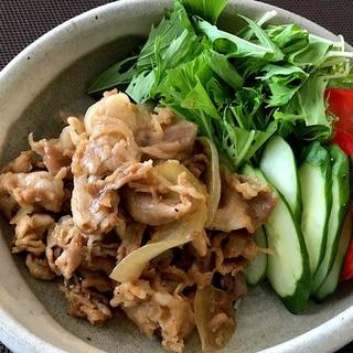 アップルジンジャーポークソテー風☆豚の生姜焼き