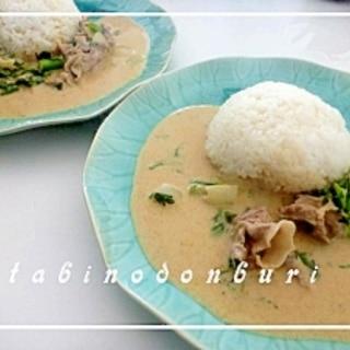 お手軽タイ料理 簡単イエローカレー