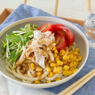 サラダうどん Salad Udon Noodles