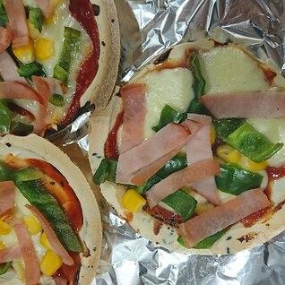 母の日にも☆南部せんべいピザ