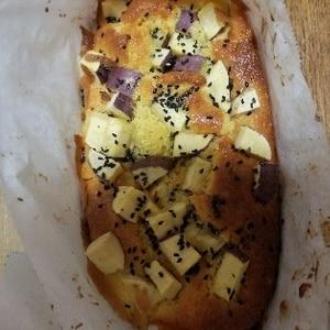 セラベイクで、サツマイモのパウンドケーキ