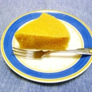 ダイエットの大豆粉蒸しケーキ