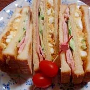 お弁当やランチに♪ミックストーストサンド☆