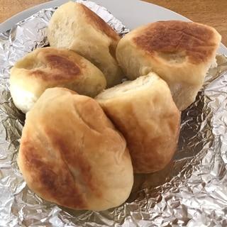 自動圧力鍋でつくる♬食べやすいサイズの薩摩芋パン