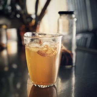 黒糖のレモンシロップ
