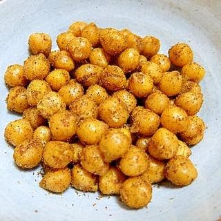 ひよこ豆のスパイシーカレー炒め