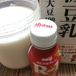 手作りR-1豆乳ヨーグルト☆シロカSHB-315で