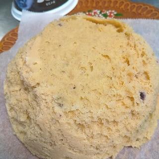 オイコスでおからパウダー蒸しパン
