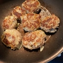 母の日○たらと玉ねぎのハンバーグ