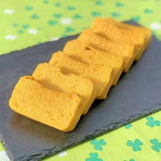 かぼちゃ×オオバコの低糖質もちぷるケーキ