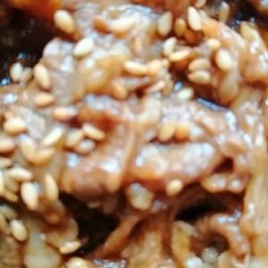 牛カルビ弁当