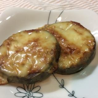 簡単!米ナスの味噌チーズ焼き