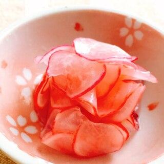 春色♡ラディッシュの甘酢漬け