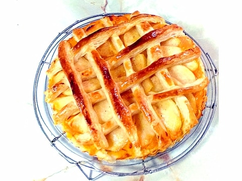 旬の果物をパイに!りんごと南瓜のダブルサクサクパイ