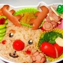 クリスマス!トナカイ弁当!キャラ弁