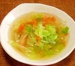 和風野菜スープ