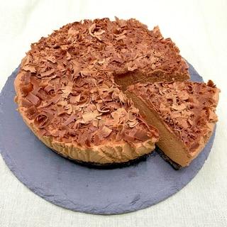 母の日に感激♡焼かない失敗無しのチョコチーズケーキ