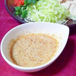 サラダやお肉に!簡単ノンオイルごまポン酢