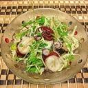 大好きタコあれんじ♪香味野菜ジュワッとごま油サラダ