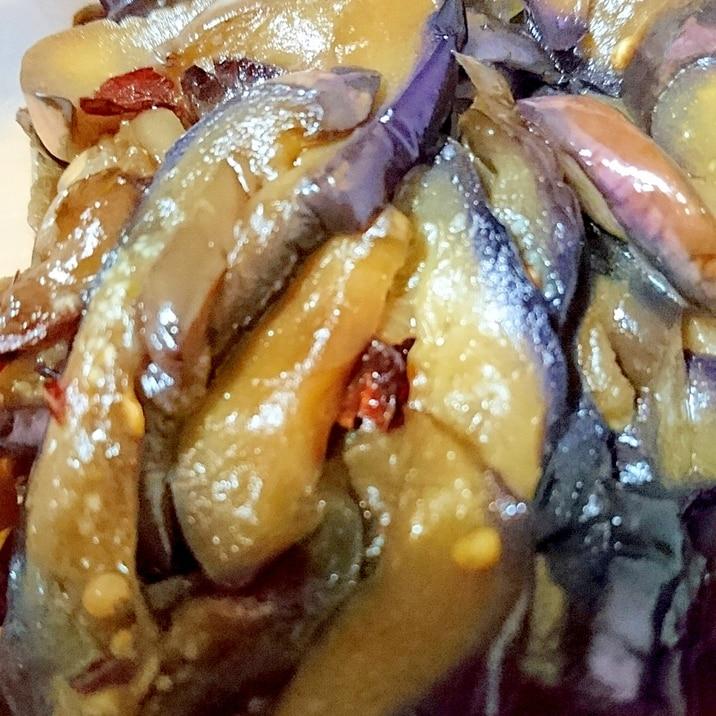 ピリピリ茄子の常備菜
