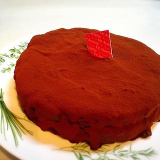 ラムバナナチョコレートケーキ