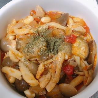 鶏と豆のトマト煮込み