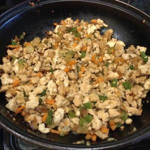 野菜たっぷり鶏そぼろ丼⭐️