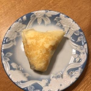簡単☆ホットケーキミックスでチョコバナナクレープ☆