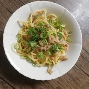 ツナ缶の麺つゆ 和風パスタ ♪