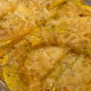 ラクックでつくる♪バターナッツかぼちゃのチーズ焼き