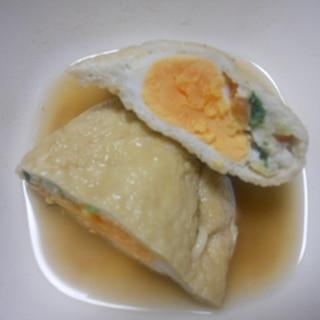 寿司揚げの玉子含め煮