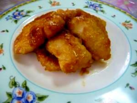 鶏胸肉を柔らかく★甘酢たれ(グレープフルーツ使用)