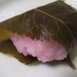 ✿炊飯器 de簡単♪ もち米の桜餅✿