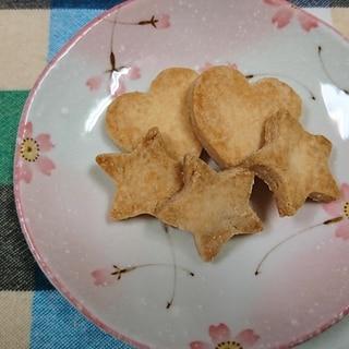 さっくさく米粉100%クッキー(卵なし小麦なし)
