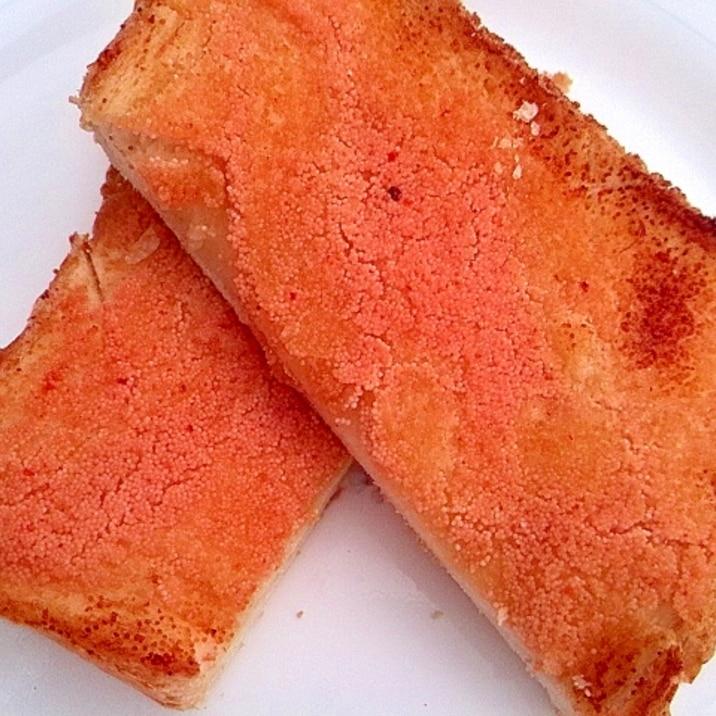 明太子バタートースト