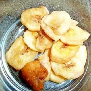 簡単! 電子レンジで作るドライフルーツ② バナナ