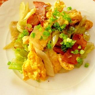 レタスの卵炒め