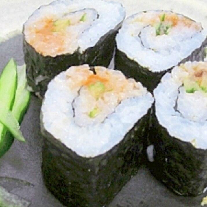 北海道特産☆ 「ウニと胡瓜の恵方巻き風」
