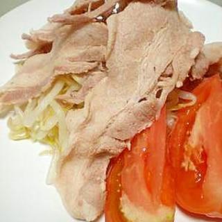豚バラ肉で☆ 冷しゃぶサラダ