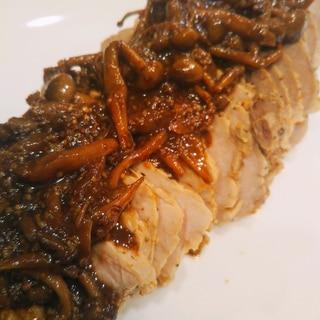 豚ブロック肉のバルサミコソース