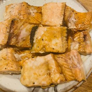 桜鱒のバター醤油焼き