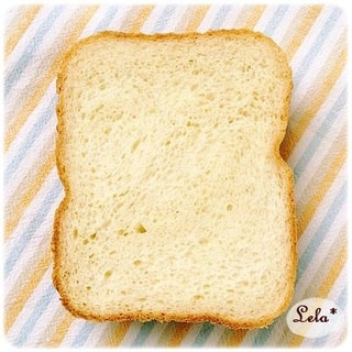 ライトブリオッシュ食パン @ ホームベーカリー