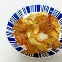 豚バラとキャベツの中華風ピリ辛味噌炒め++