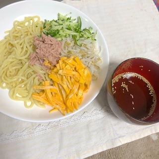 【1人前84円】 冷やし中華☆ちゃんぽん麺アレンジ