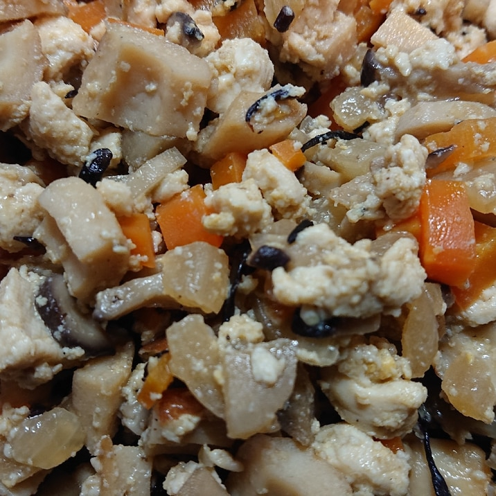 豆腐 レシピ 炒り