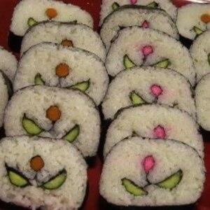 ひな祭り&お正月に☆チューリップの飾り巻き寿司
