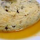 炊飯器deサントウナの卵とじ