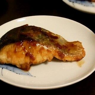サワラの生姜焼き