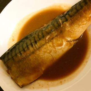 生姜チューブでサバの味噌煮